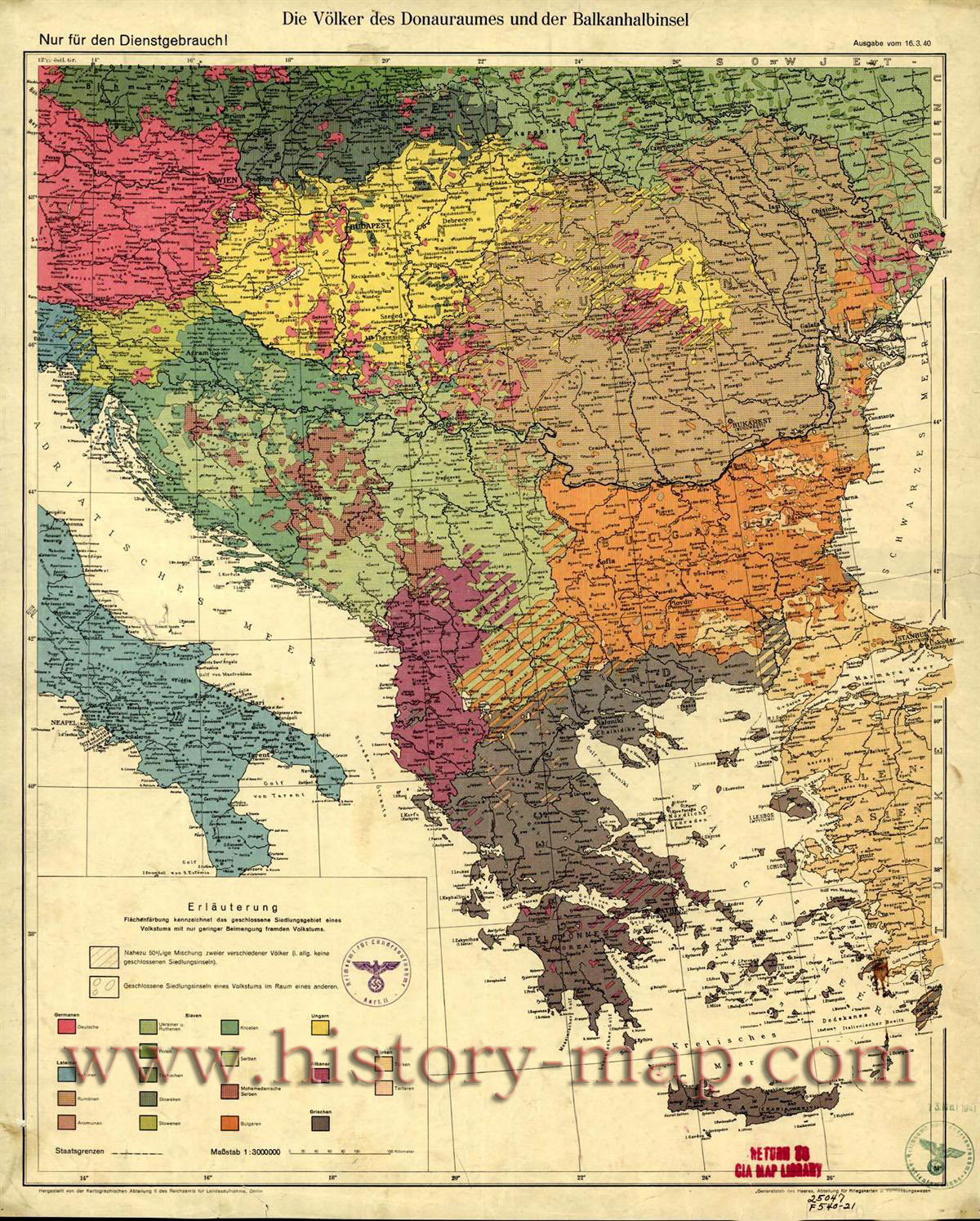 Balkans-the-Map-of