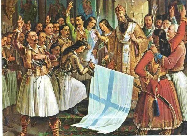 Αποτέλεσμα εικόνας για επανάσταση 1821